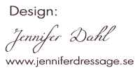 Design by JenWeb www.jenniferdressage.se